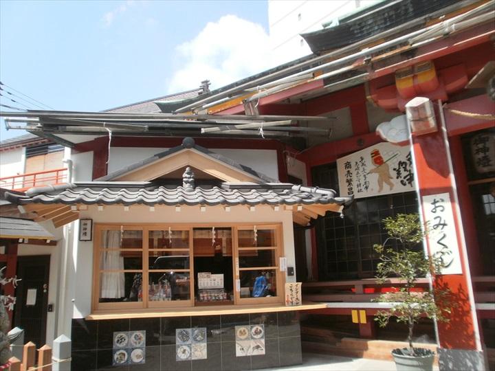 尼崎戎神社 本殿改修工事が竣工しました。