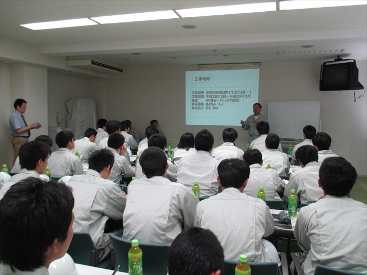 県立尼崎工業高等学校現場見学会