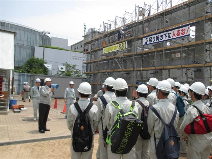 県立尼崎工業高等学校現場見学会4