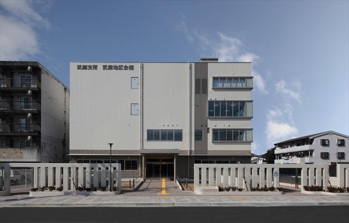 尼崎市の武庫支所・地区会館複合施設